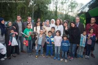 Arrivée des 50 personnes demandeuses de protection internationale au Luxembourg