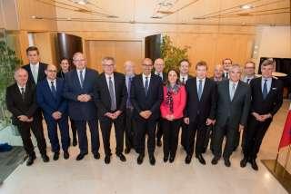 Cinquième réunion de la Commission intergouvernementale franco-luxembourgeoise pour le renforcement de la coopération transfrontalière, Photo de famille