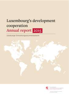 Annual report 2015 of Luxembourg's development cooperation
