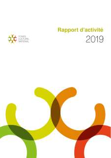 Rapport d'activité 2019 du Fonds culturel national