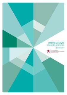 Rapport d'activité 2017 du ministère des Finances