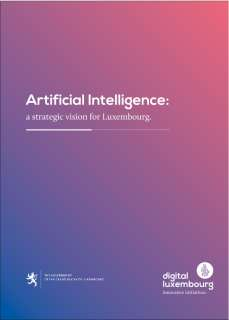Artificial Intelligence : a strategic vision for Luxembourg