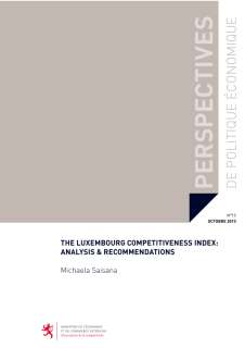 The Luxembourg Competitiveness Index: Analysis