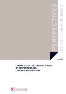 Microsoft Word - ppe_20_20120606.docx, Comparative study on the factors of competitiveness: Luxembourg-Singapore