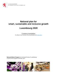 National Reform Programme of the Grand Duchy of Luxembourg 2013