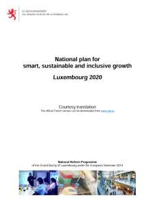 National reform program of the Grand Duchy of Luxembourg 2014