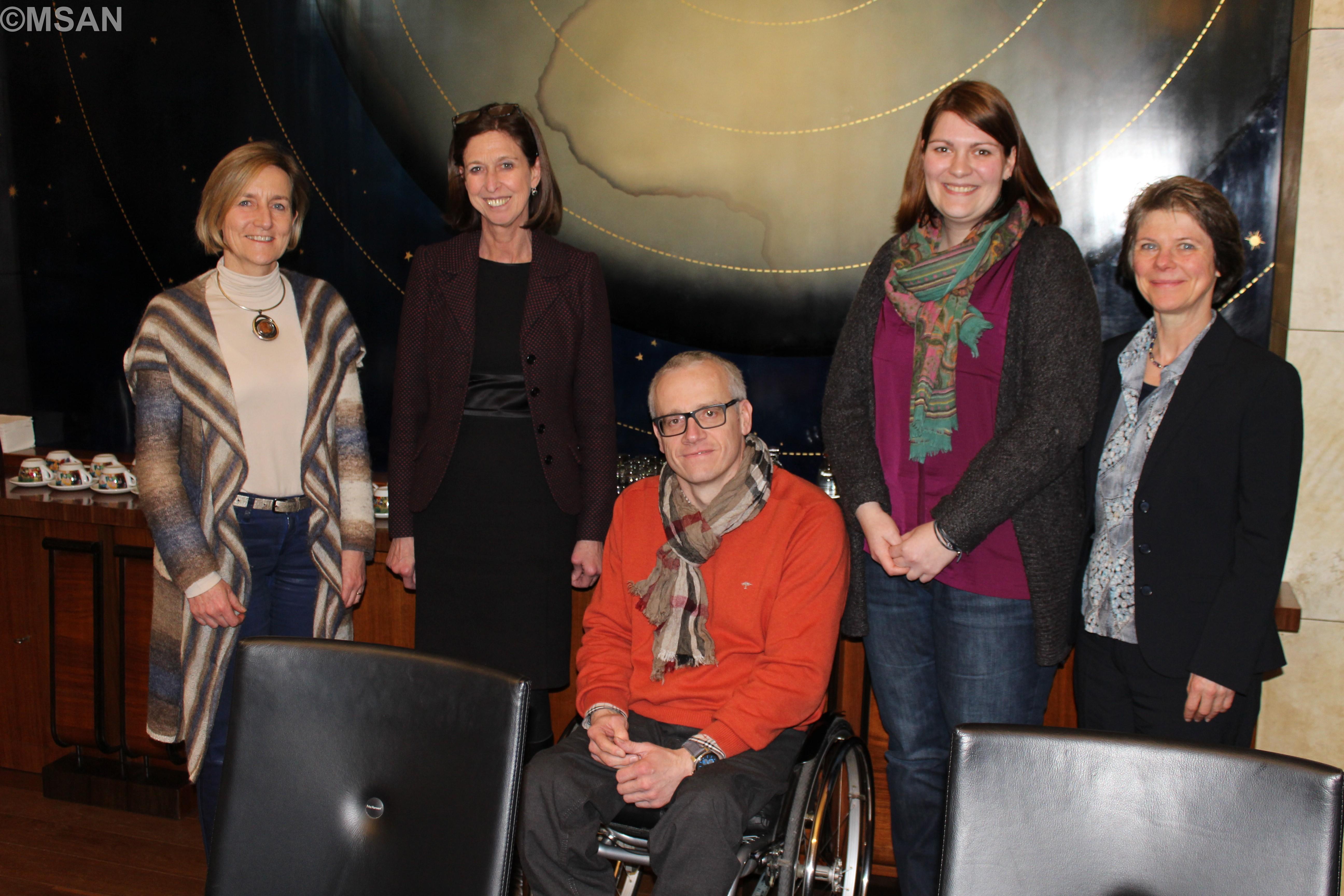 LM+invit, Lydia Mutsch avec des représentants de l'AVR