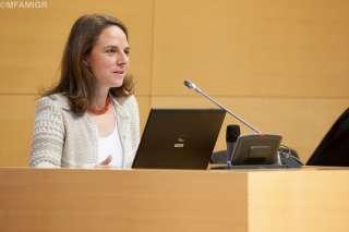 Corinne Cahen à la Journée d'orientation du Contrat d'accueil et d'intégration (CAI)