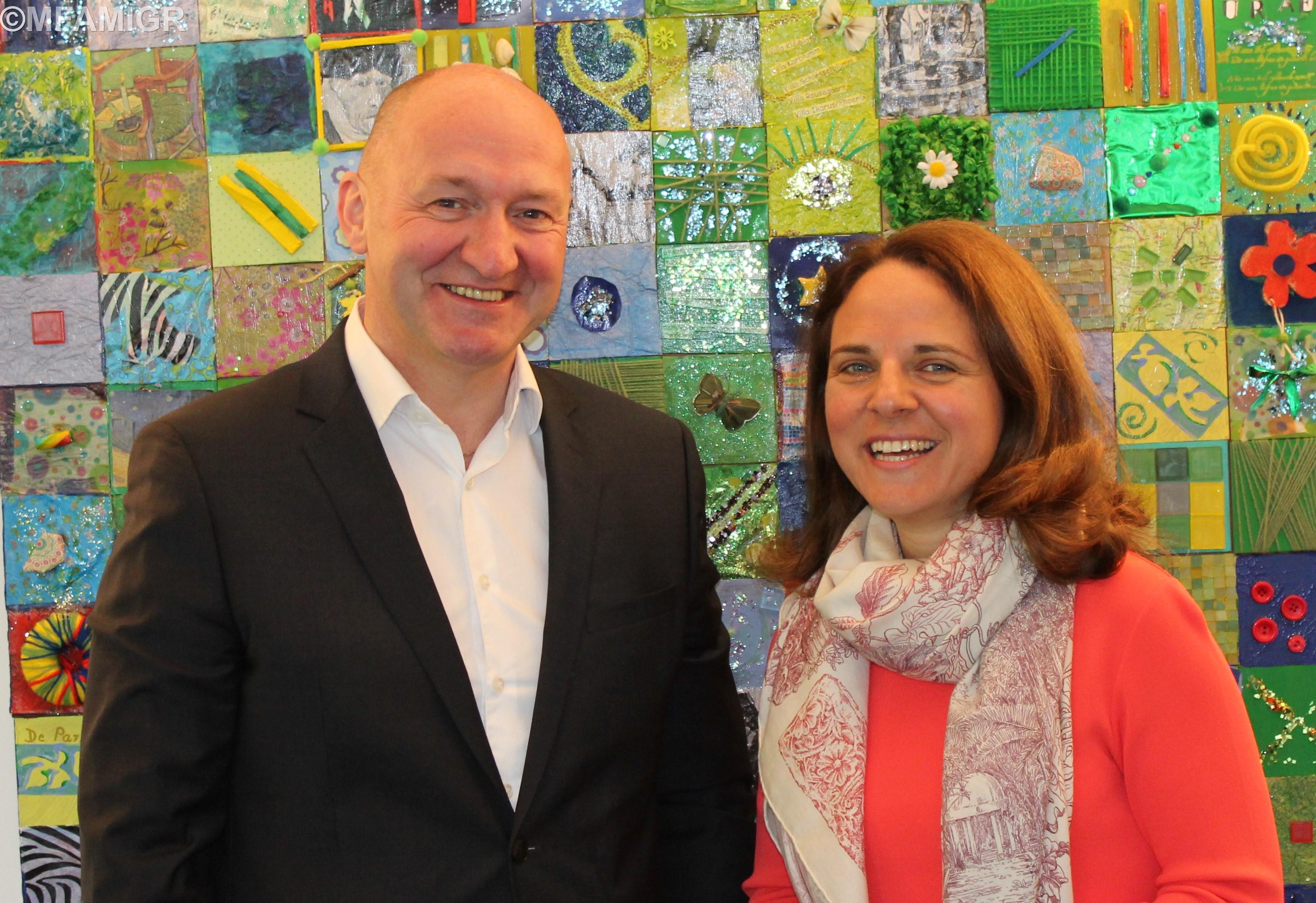 Philippe Ledent et Corinne Cahen