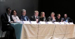 (de g. à dr.) Frank Goeders, Dominique Faber, Emile Eicher,Marc Hansen, Diane Dupont, Jean-Paul Marc,Guy Entringer, Marioj Schweitzer