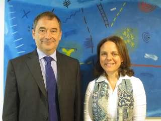 Entrevue de Corinne Cahen avec le préfet de la Moselle, Emmanuel Berthier