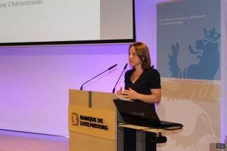 Corinne Cahen, ministre de la Famille, de l'Intégration et à la Grande Région