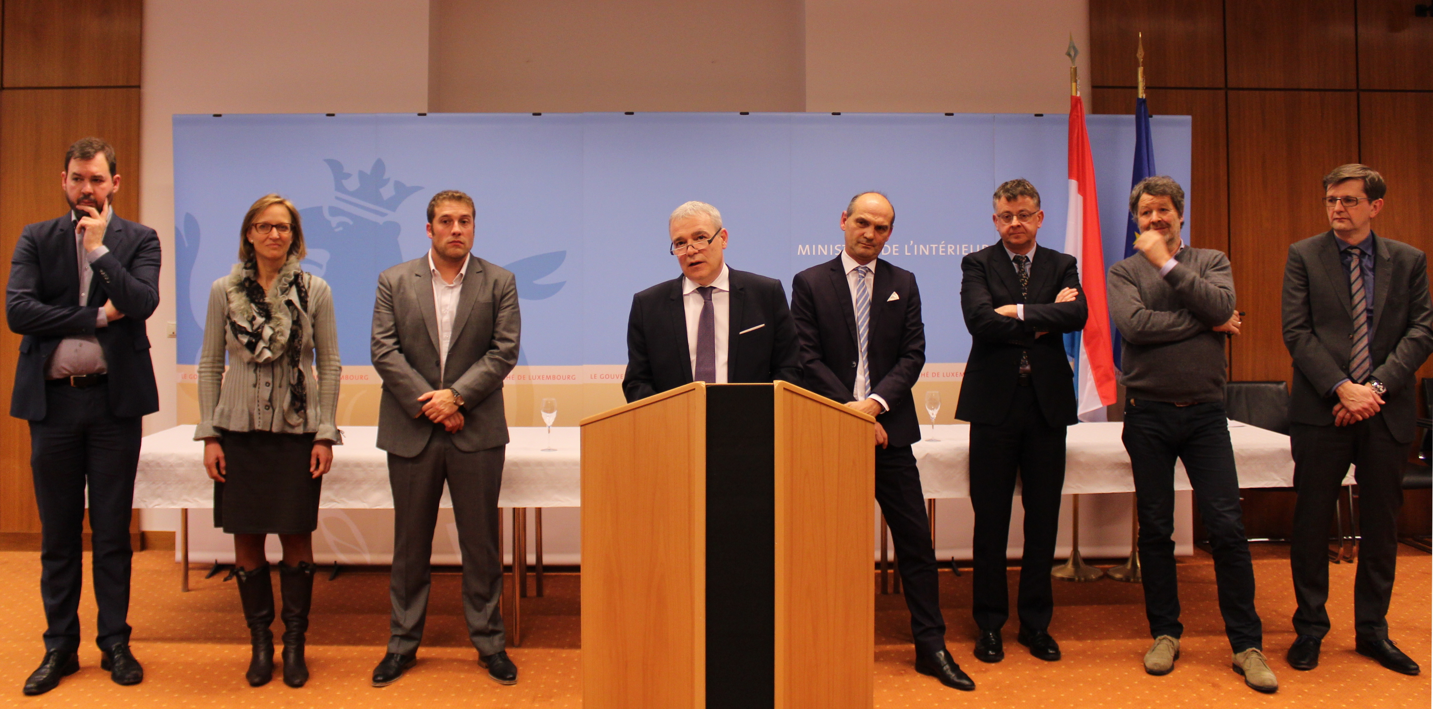 Le ministre de l\'Intérieur, Dan Kersch, esquisse les projets de ...