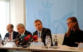 Laurent Deville; Dan Kersch, ministre de l'Intérieur; Marc Hansen, ministre du Logement; Diane Dupont