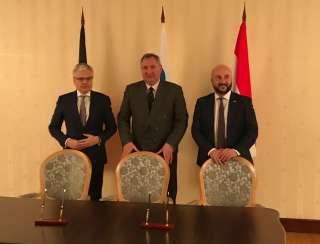Réunion de la Commission mixte de coopération économique entre l'Union économique belgo-luxembourgeoise (UEBL) et la Fédération de Russie