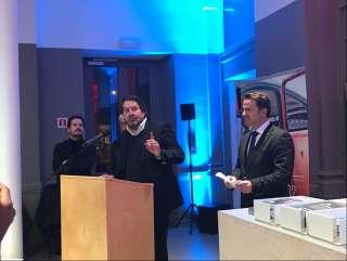 Ouverture du pavillon réalité virtuelle et annonce de la nouvelle mesure incitative entre le Luxembourg et le Canada
