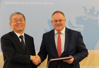 Signature de la convention de sécurité sociale avec la république de Corée