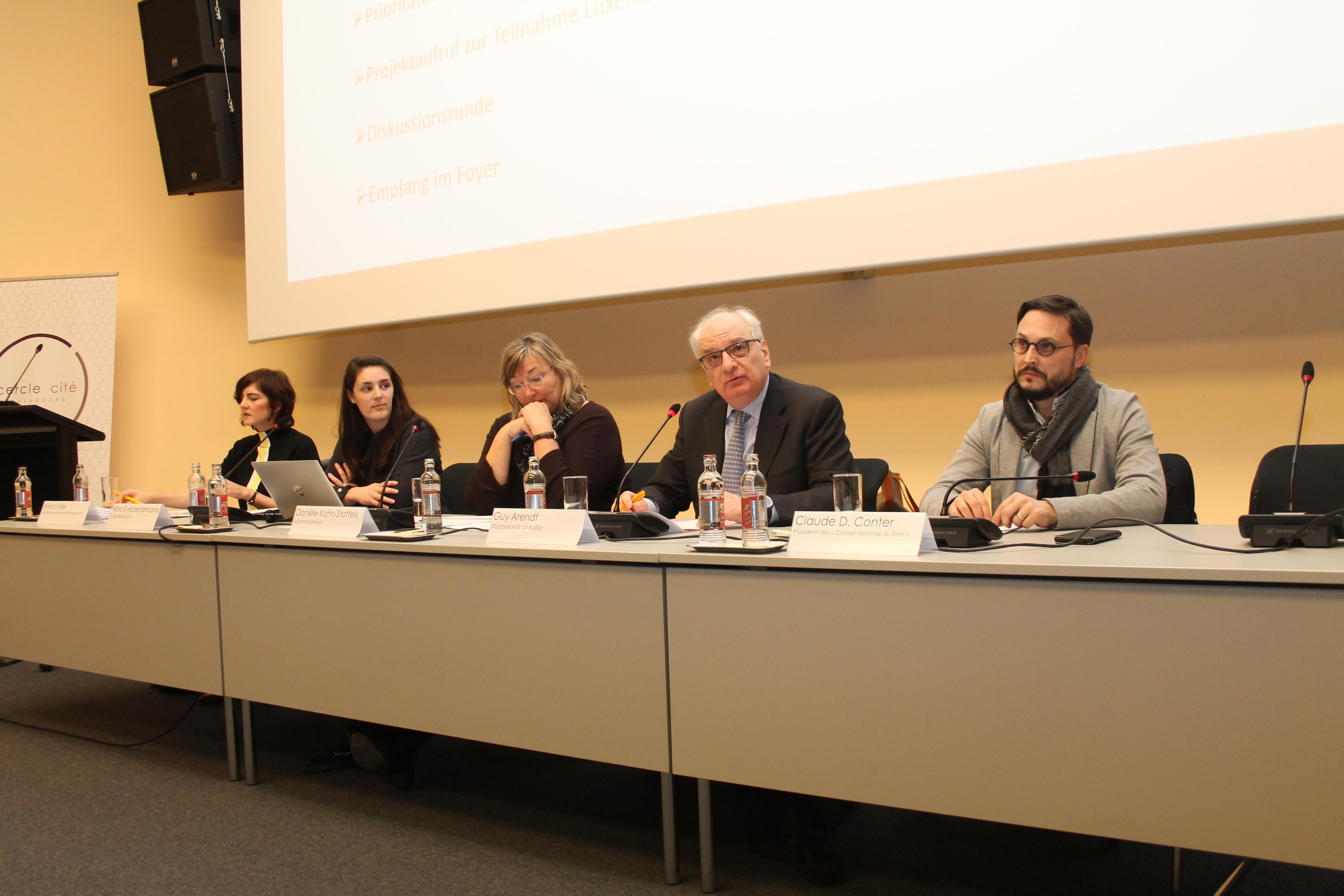 Teilnahme Luxemburgs an der Frankfurter Buchmesse, Projektaufruf und Einsatz einer Koordinatorin