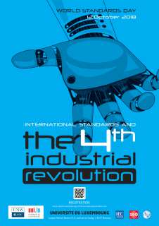 Affiche the 4th industrial revolution