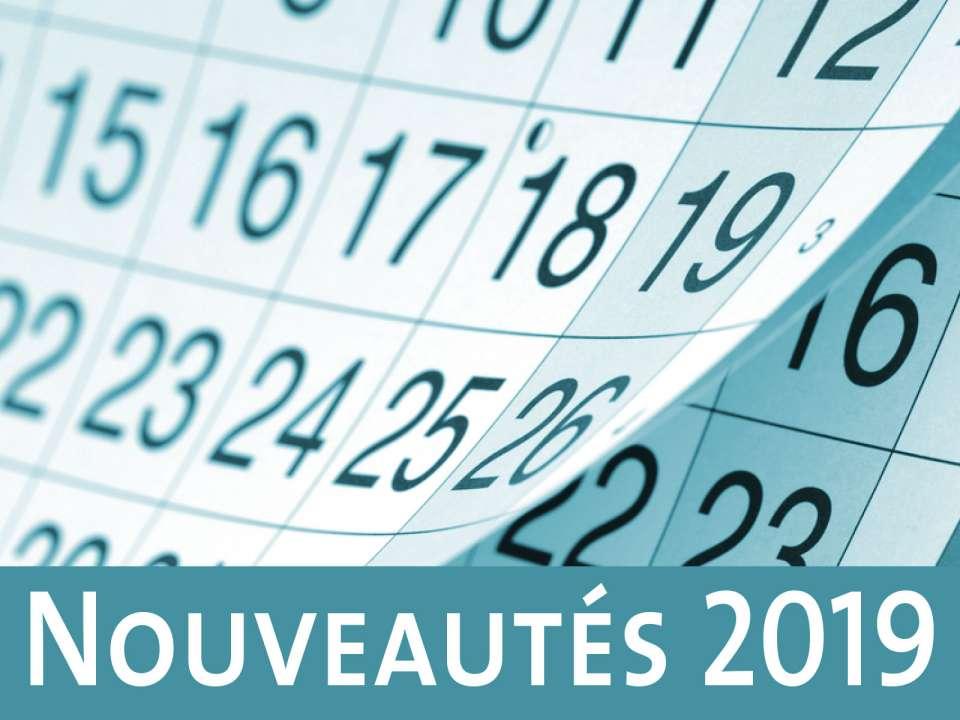 Calendrier Electoral 2019.Nouveautes 2019 Centre Des Technologies De L Information