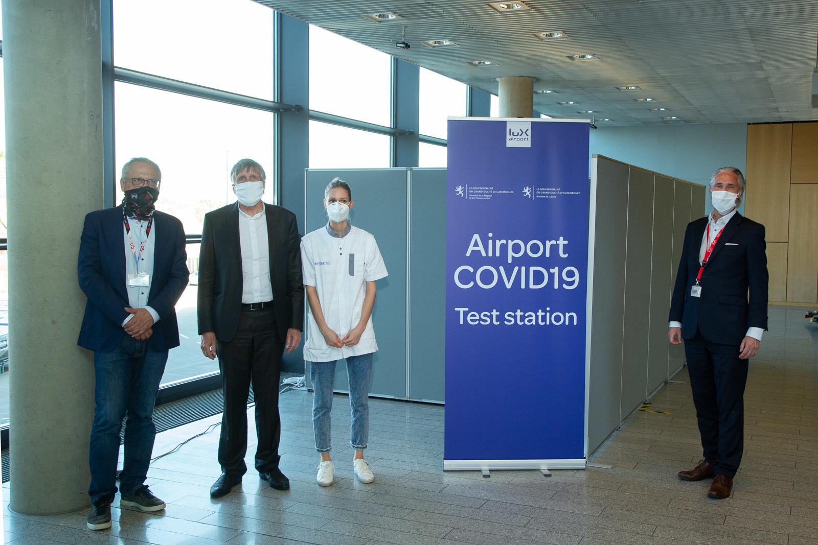 Projet Pilote De Testing Covid 19 A L Aeroport De Luxembourg Gouvernement Lu Le Gouvernement Luxembourgeois